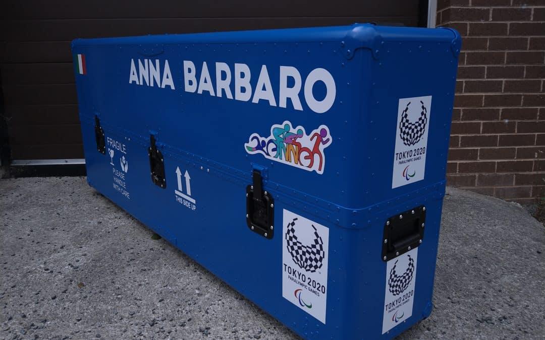 Custom tandem box for Italian Paralympic triathlete – Tokyo 2020